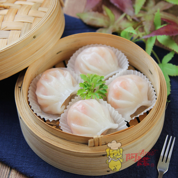 Ha Gao (Frozen Shrimp Dumpling)